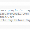 PowerMTA Status Check Plugin