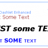 Text Dashlet Enhanced