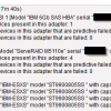 Disks on IBM Servers