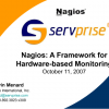 Nagios: A Framework for Hardware-based Monitoring