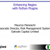 Enhancing Nagios with Python Plugins