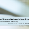 Open Source Network Monitoring