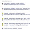 Nagios Core Mass Functions