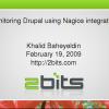 Monitoring Drupal Using Nagios Integration